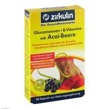Produktbild Zirkulin Glucomannan + B-Vitamine mit Acai-Beere Kapseln