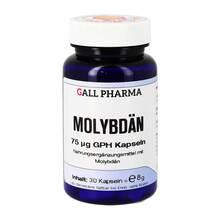 Produktbild Molybdän 75 µg GPH Kapseln