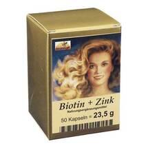 Biotin Plus Zink Haarkapseln