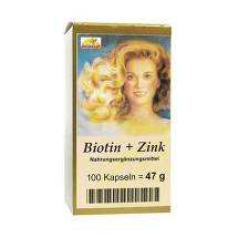 Produktbild Biotin Plus Zink Haarkapseln