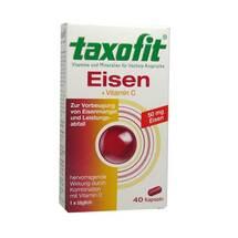 Taxofit Eisen + Vitamin C Weichkapseln