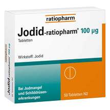 Produktbild Jodid ratiopharm 100 µg Tabletten