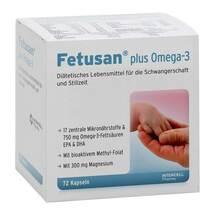 Produktbild Fetusan plus Omega 3 Kapseln