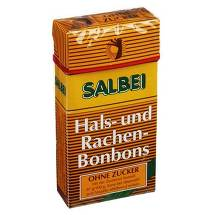 Salbei Hals und Hustenbonbon