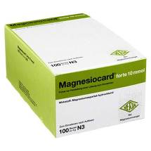 Produktbild Magnesiocard forte 10 mmol P