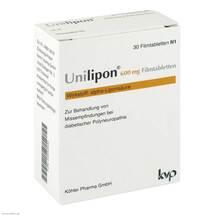 Produktbild Unilipon 600 mg Filmtabletten
