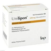 Unilipon 600 mg Filmtabletten