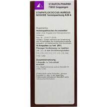 Produktbild Staphylococcinum Aureus Nosoden Ser.Ampullen