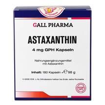 Produktbild Astaxanthin 4 mg GPH Kapseln