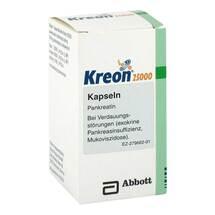 Produktbild Kreon 25.000 Hartkapseln mit magensaftresistent überzogene Pellets