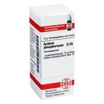 Produktbild Acidum phosphoricum D 20 Globuli