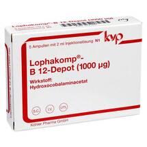Produktbild Lophakomp B 12 Depot 1000 µg Injektionslösung