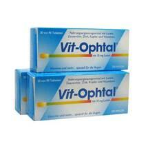 Produktbild Vit Ophtal mit 10 mg Lutein Tabletten