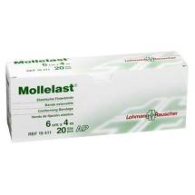 Produktbild Mollelast 6cmx4m weiß