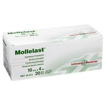 Produktbild Mollelast 10cmx4m weiß