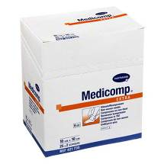 Produktbild Medicomp Extra Kompressen 10x10 cm steril