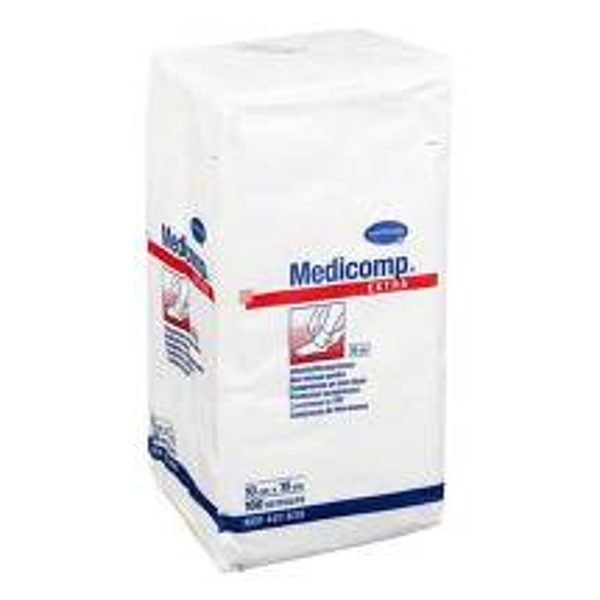 Produktbild Medicomp Extra Kompressen 10x10 cm unsteril