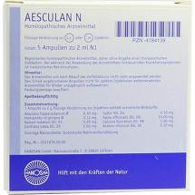 Produktbild Aesculan N Ampullen