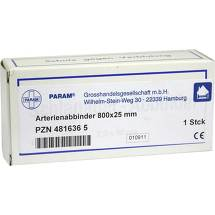 Produktbild Arterienabbinder 25x800mm