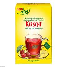 Produktbild Apoday Kirsch Magnesium + Vitamin C Pulver