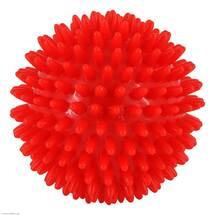 Produktbild Massageball Igel 9 cm rot