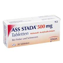 Produktbild ASS STADA 500 mg Tabletten