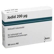 Produktbild Jodid 200 Tabletten