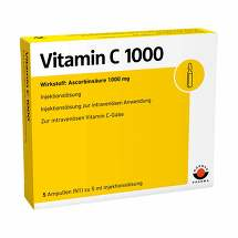 Produktbild Vitamin C 1000 Ampullen
