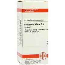 Arsenicum album C 5 Tabletten