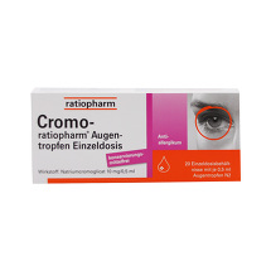 Cromo Ratiopharm Augentropfen