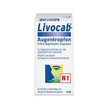 Produktbild Livocab Augentropfen