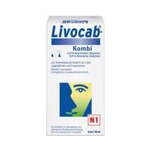 Livocab Kombi 4 ml Augentropfen + 10 ml Nasenspray