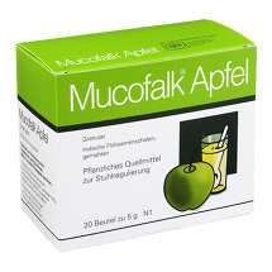 Produktbild Mucofalk Apfel Granulat Beutel