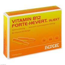 Produktbild Vitamin B12 Hevert forte Injekt Ampullen