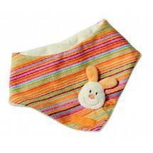 Produktbild Baby Halstuch Hase orange