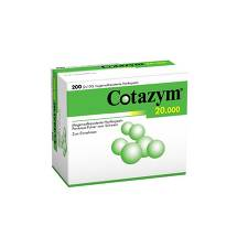 Produktbild Cotazym 20.000 Pellets magensaftresistente Kapseln