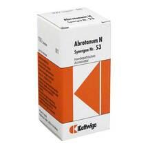 Produktbild Synergon 53 Abrotanum N Tabletten