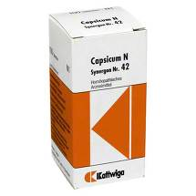 Produktbild Synergon 42 Capsicum N Tabletten