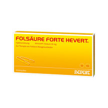 Folsäure Hevert forte Ampullen