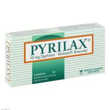 Pyrilax Suppositorien 10 mg