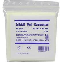 Zellstoff Mullkompressen 10c