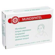 Produktbild Mundspatel Kinder