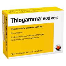 Produktbild Thiogamma 600 oral Filmtabletten
