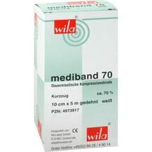 Produktbild Mediband 70 Kurzzugbinde 10 cm x 5 m weiß