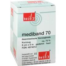 Produktbild Mediband 70 Kurzzugbinde 8 cm x 5 m hautfarben
