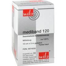 Produktbild Mediband 120 Mittelzugbinde 10 cm x 5 m hautfarben