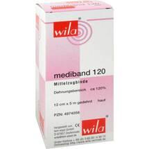 Produktbild Mediband 120 Mittelzugbinde 12 cm x 5 m hautfarben