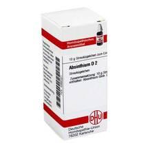 Produktbild Absinthium D 2 Globuli