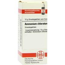 Produktbild Ammonium chloratum D 30 Globuli