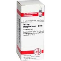 Produktbild Ferrum phosphoricum C 10 Globuli